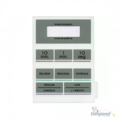 Membrana Microondas Sharp MW530 Branco
